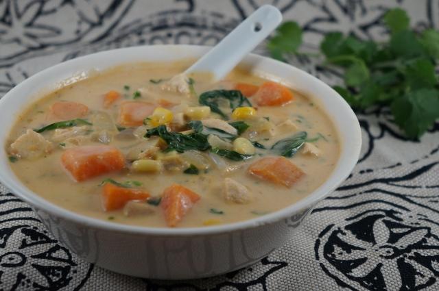 Thai Chicken Corn Chowder | Breaking Bland Eats