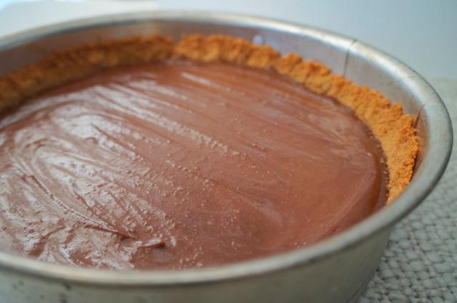 Whole Chocolate Peanut Butter Pie