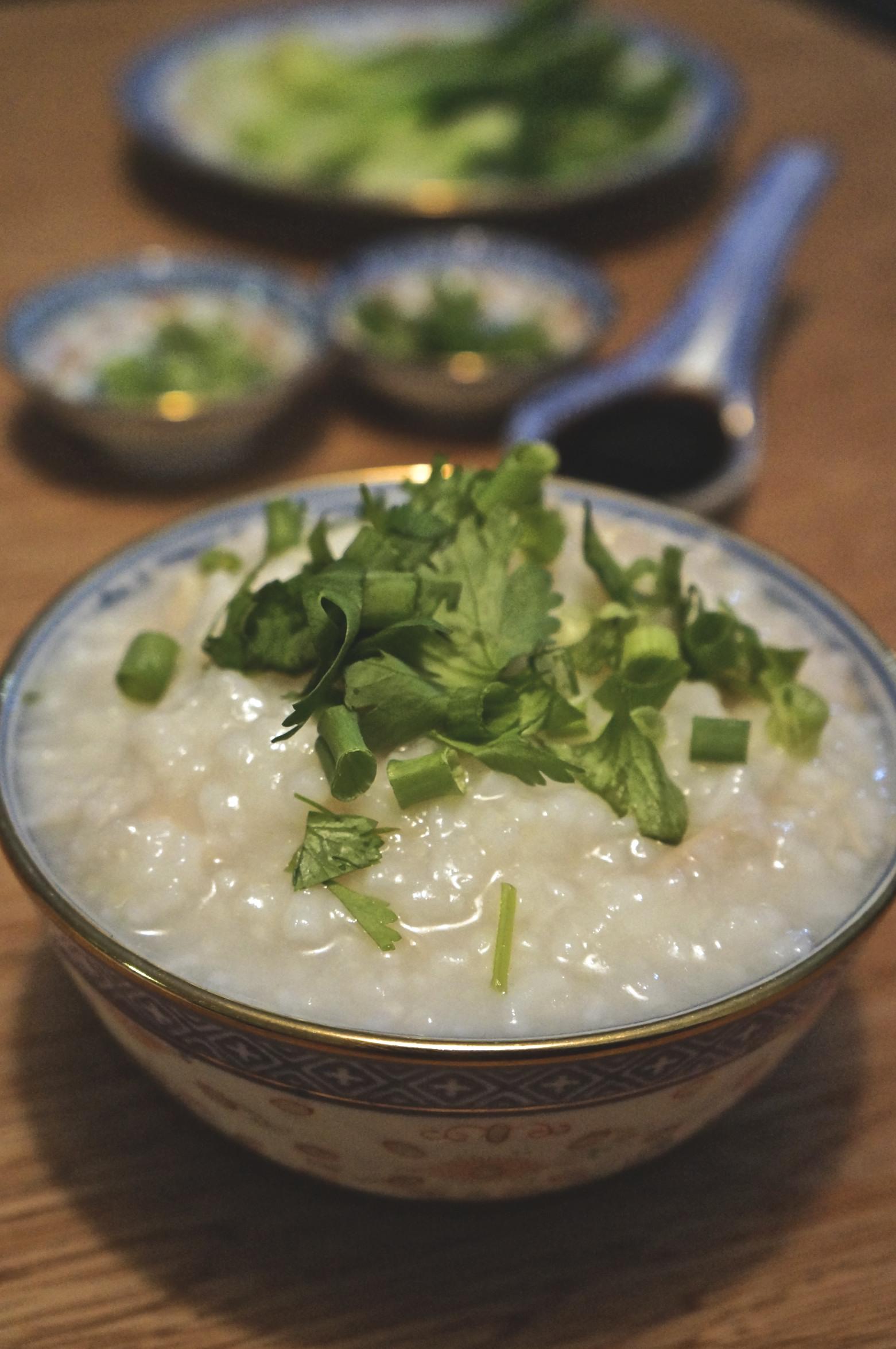 ... rice porridge congee leftover thanksgiving turkey turkey congee rice