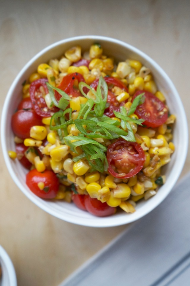 Warm Corn Salsa | Breaking Bland Eats
