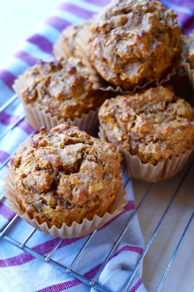 Pumpkin Apple Muffin {Breaking Bland Eats}